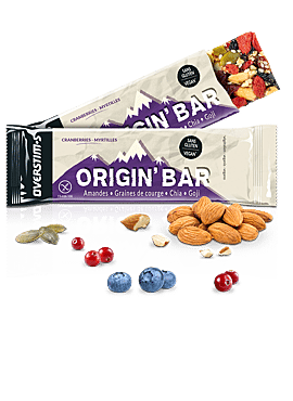 OVERSTIMS Origin Bar Cranberrie Myrtille
