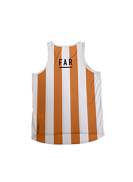 FAR Ultralight Stripe Singlet Men