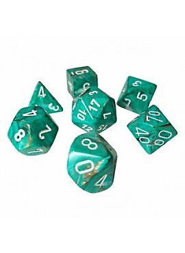 Marble Poly 7 Set:  Oxi/Copper w/white 27403