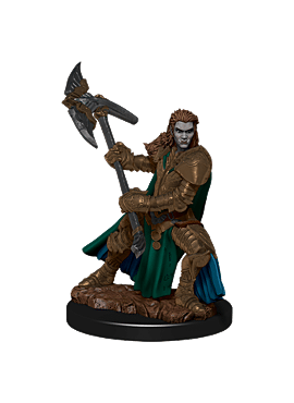 D&D Icons of the Realms: Premium Painted Figure - Half-Orc Fighter Female
