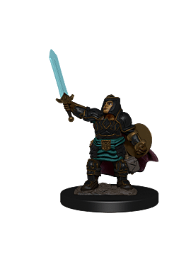 D&D Icons of the Realms: Premium Painted Figure - Dwarf Paladin Female