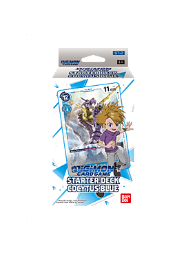 Digimon Card Game - Starter Deck Display Cocytus Blue ST-2 (6 Decks)