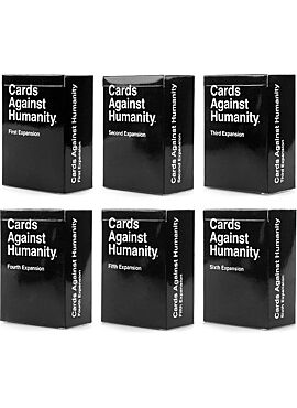 Cards Against Humanity expansion pack 1-6