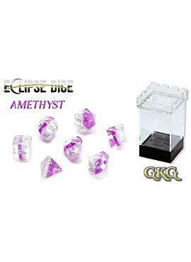 Eclipse Dice Amethyst (7 Dice Set)