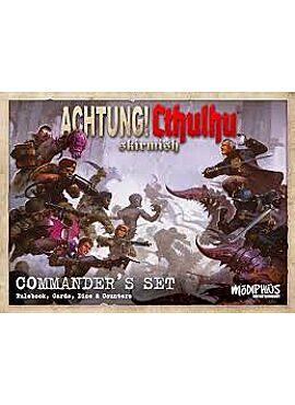 achtung! Cthulhu Skirmish Commander set