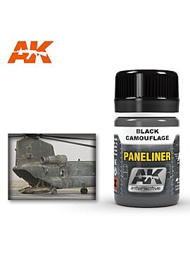 AK PANELINER FOR BLACK CAMOUFLAGE
