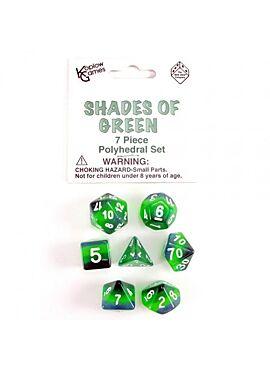 Shades Of Green 7-die Set