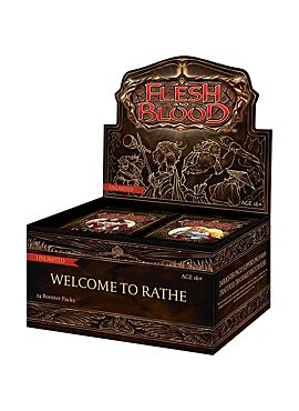 Flesh & Blood TCG - Welcome to Rathe Unlimited Booster Display (24 Packs)