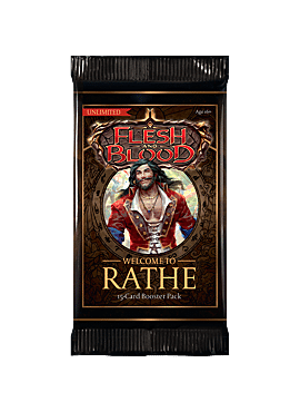 Flesh & Blood TCG - Welcoime to Rathe Unlimited Booster
