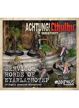 achtung! Cthulhu Skirmish Servitor horde of Nyarlathotep