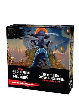 Icons of the Realms - Waterdeep City of the Dead Statues and Monuments Set WizKids