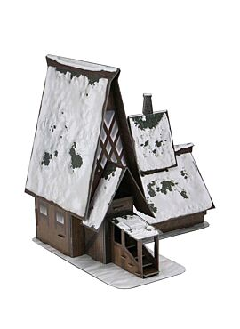 Icons of the Realms - Icewind Dale The Lodge Papercraft Set