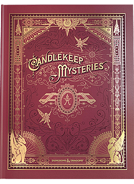 D&D Candlekeep Mysteries HC Alternate Cover (WPN Stores)