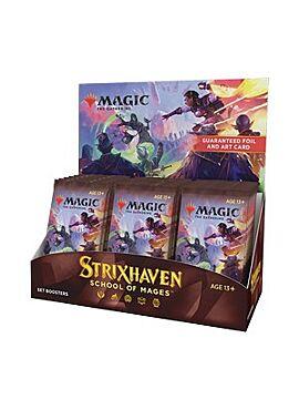 Strixhaven: School of Mages Set Booster Display