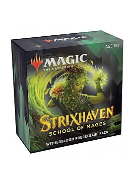 Strixhaven pre-release pack: Witherbloom