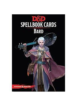 Spellbook cards Bard