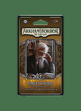 ARKHAM HORROR LCG HARVEY WALTERS INVESTIGATOR DECK
