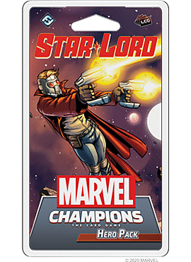 MARVEL LCG CHAMPIONS STAR-LORD HERO PACK