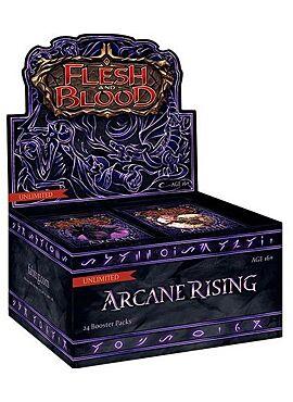 Flesh & Blood  Arcane Rising Unlimited Booster Display (24 Packs) - EN