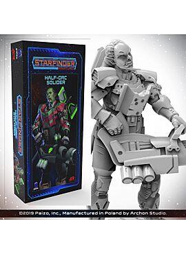 Starfinder Half-Orc Soldier