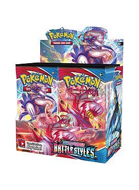 Pokémon TCG - Sword & Shield 5 Battle Styles - Boosterbox