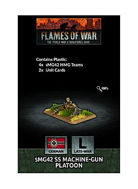 sMG42 SS Machine-gun Platoon (x4 Plastic)