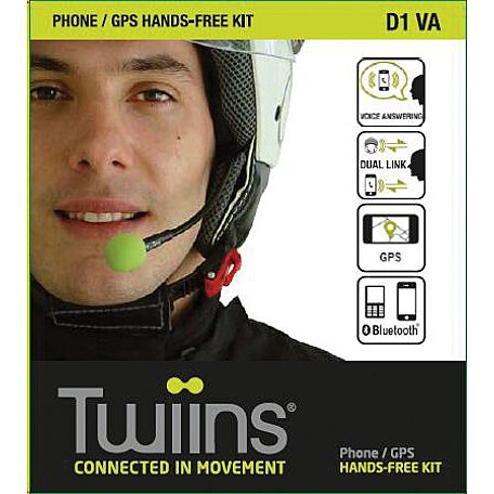 TWIINS D1VA PHONE/GPS HANDS-FREE KIT