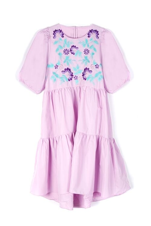 ELODIE FLOWER DRESS COTTON