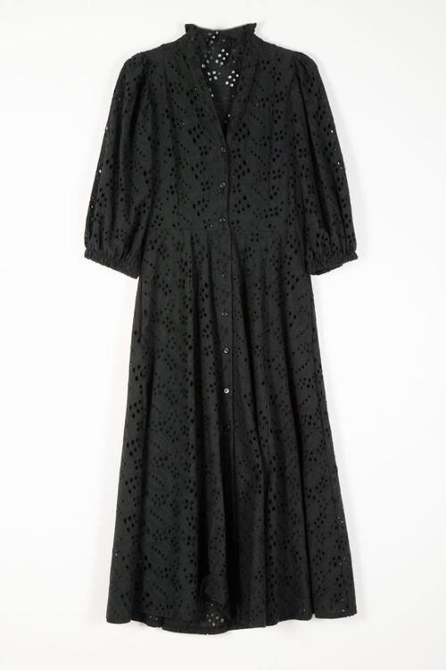 EMBROIDED LONG DRESS