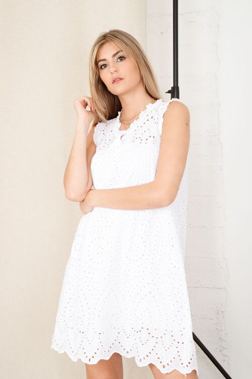 HELENE EMBROIDED DRESS