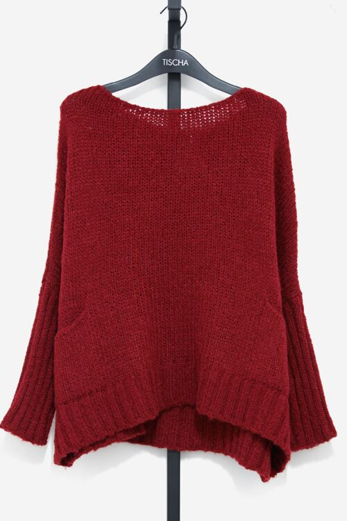 ELSANE OVERSIZED KNIT