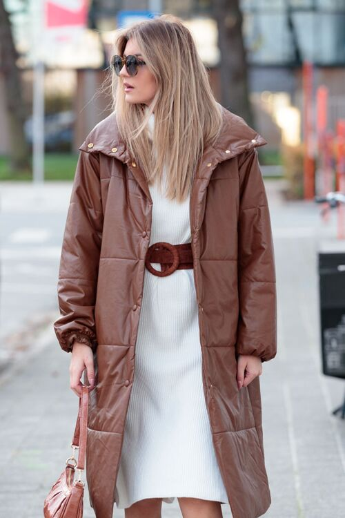 VALENTINA LONG PUFFER COAT