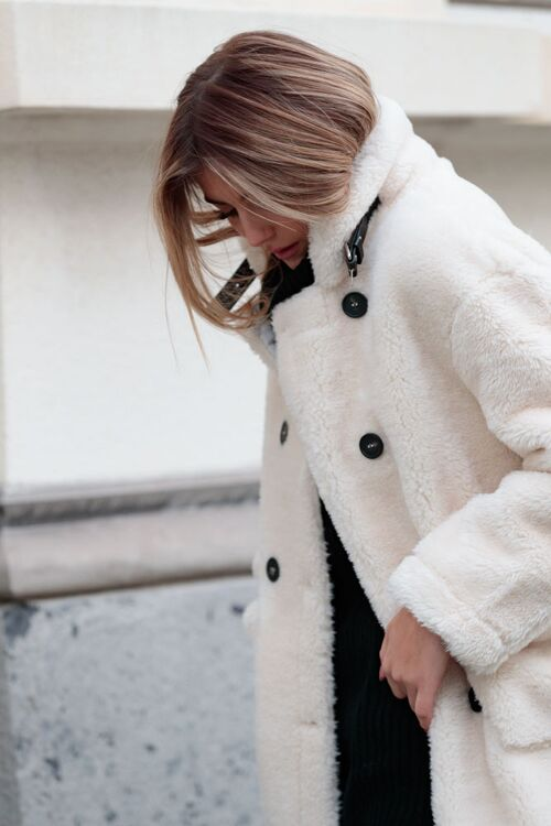 VALERIA TEDDY COAT