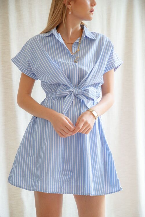 ANNIE DRESS STRIPED