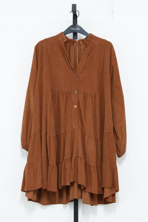 VANA JUNE CORDUROY DRESS