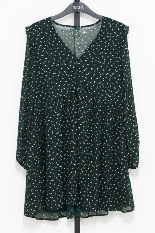 ALITA DRESS DOTTED