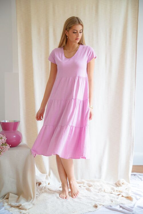 GINETTE T-SHIRT DRESS