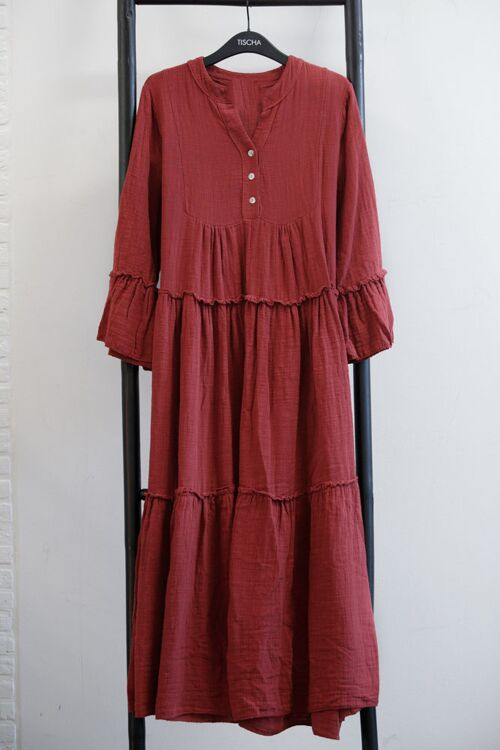CARO COTTON DRESS