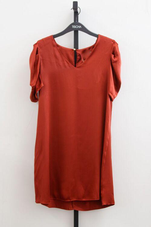 BECKY SATIN DRESS
