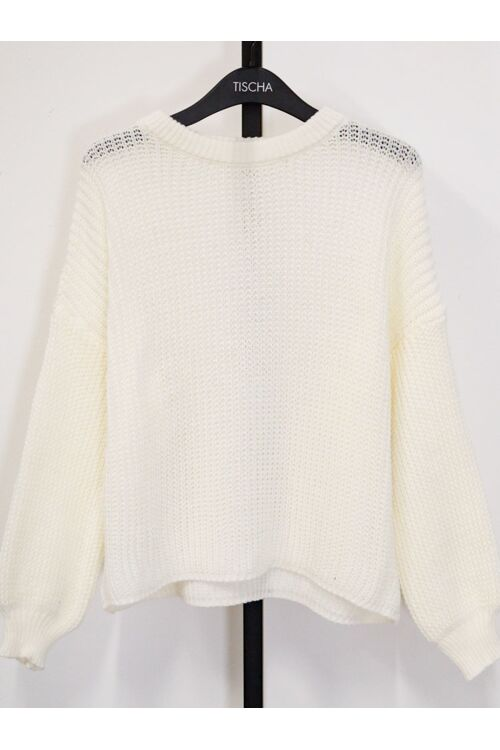 ELLY KNIT OFF WHITE