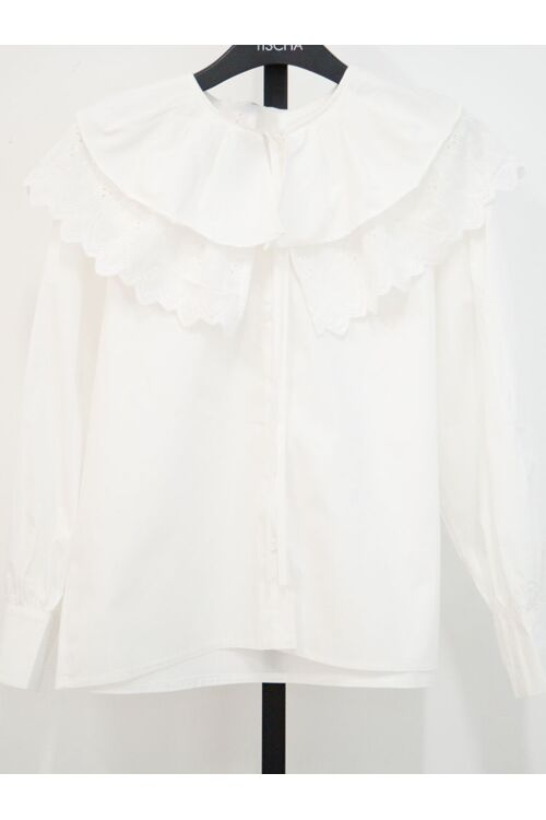 MAGALIE BLOUSE OFF WHITE