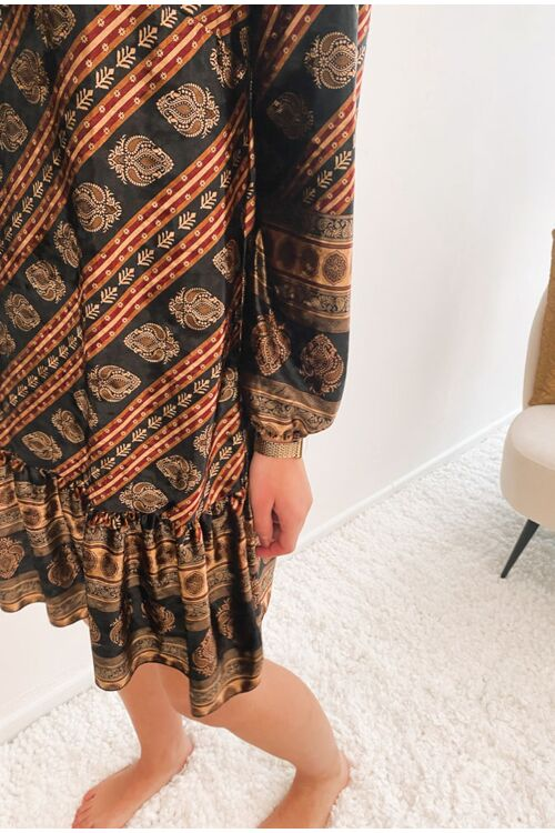 LISSYANNA PRINTED DRESS