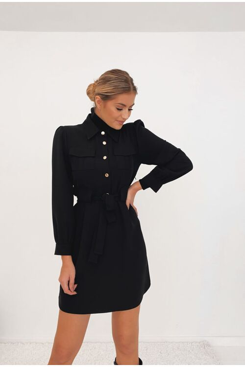 LIVVY BELTED DRESS