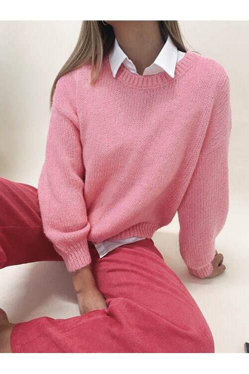 GABY KNIT PINK