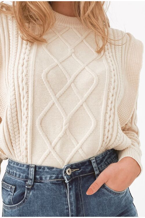 MILOU KNITTED SWEATER FRULLS