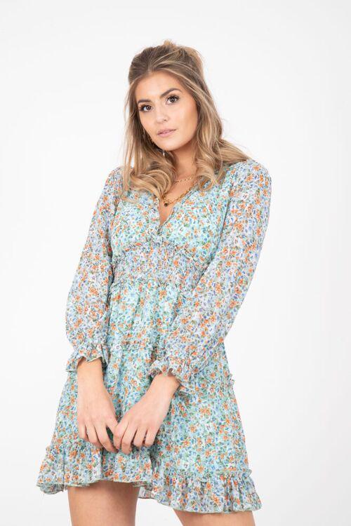 ADRIANA FLORAL DRESS