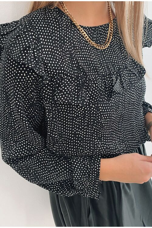 DIANA DOTTED BLOUSE