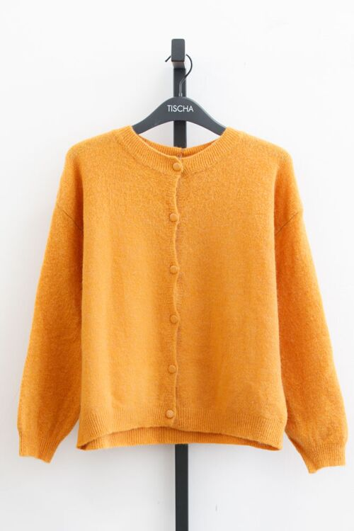 DONNA BUTTONED KNIT