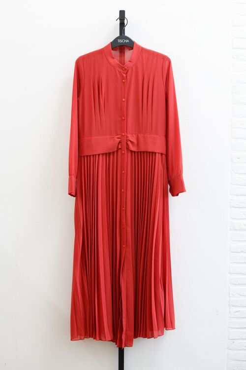 PENNY PLEATED DRESS