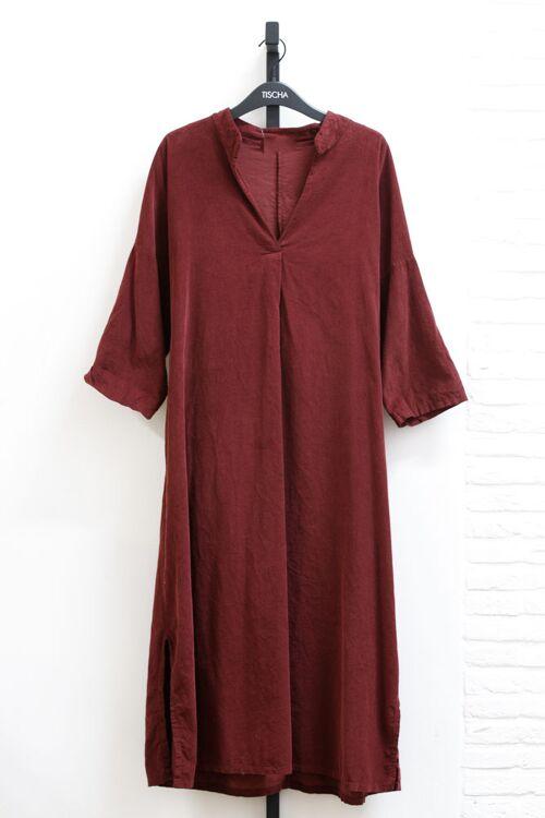 IVYROSE CORDUROY LONG DRESS